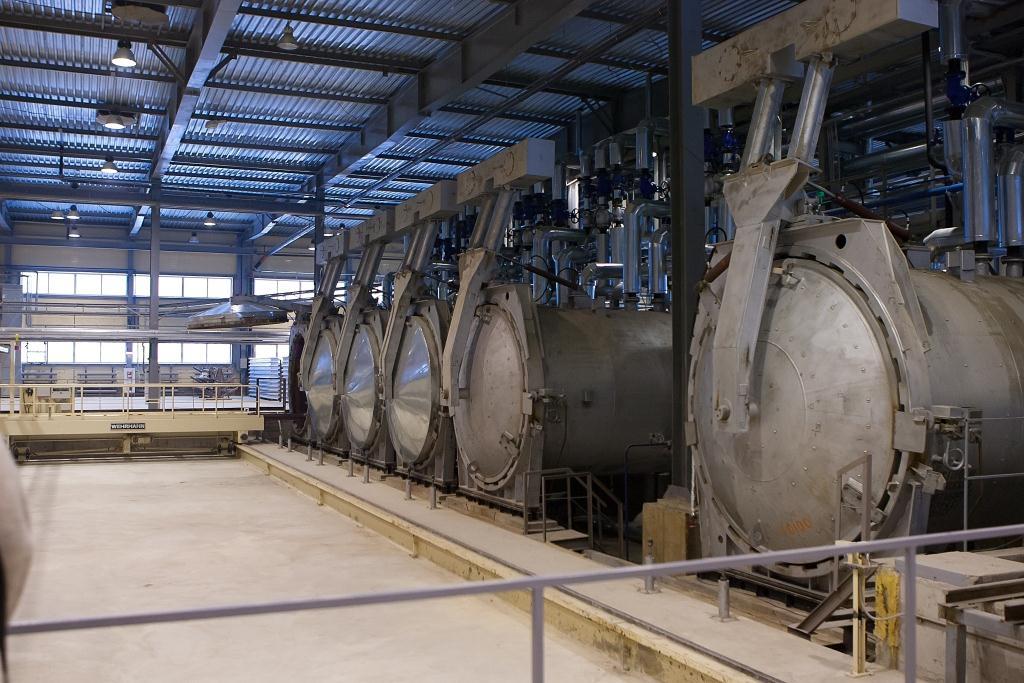 автоклав для производства газоблоков